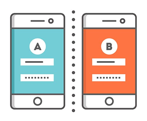 A/B testing for ASO